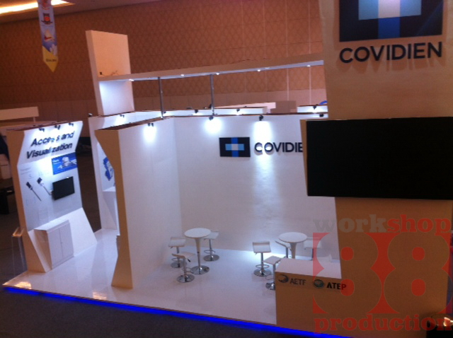 Exhibition Booth Contractor Usa : Covidien expo show for elsa in bndcc bali info vendor