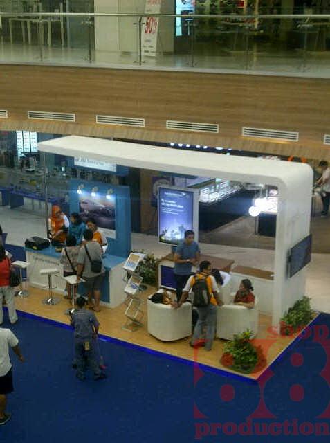 Booth Garuda Travel Fair 2014 Info Exhibition Booth