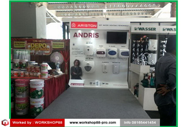 Contractor Display stand Ariston Bali Info +628165441454 (1)