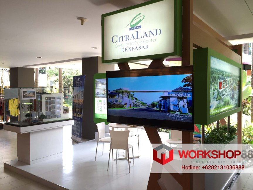 Booth Stand Contractor Bali Citraland Property Exhibition +6282131036888
