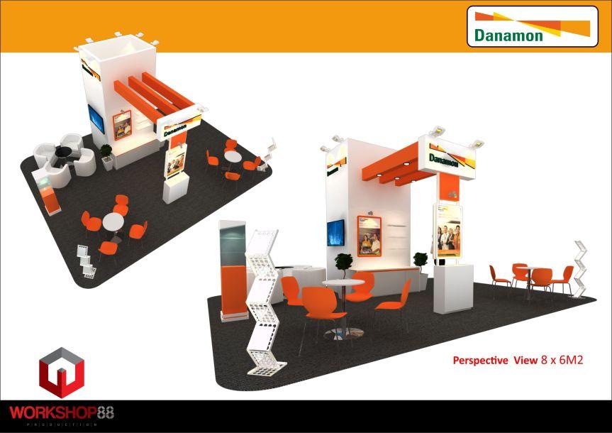 Stand Danamon 48 Sqm