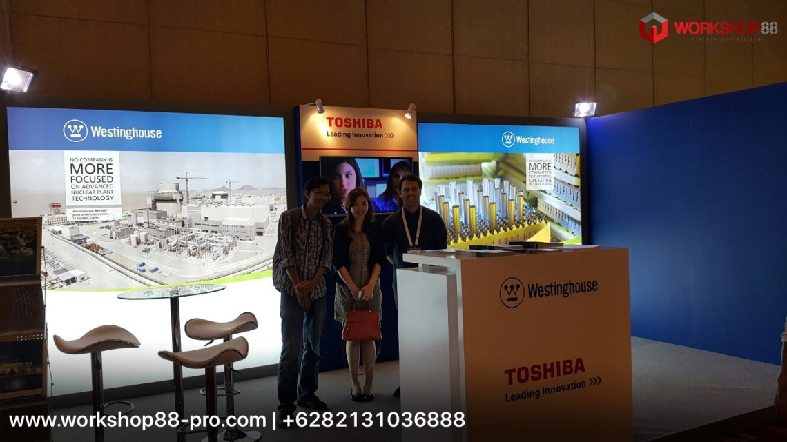 Exhibition Stand Builders Perth : Nuclear asia exhibition stand contractor in jakarta city indonesia